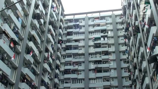Para penghuni Rusunawa Tambora menolak wacana kenaikan tarif sewa yang dihembuskan Gubernur DKI Jakarta, Anies Baswedan.