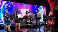Peluncuran deretan produk Asus ROG di Jakarta, Kamis (4/5/2018). Liputan6.com/ Yuslianson