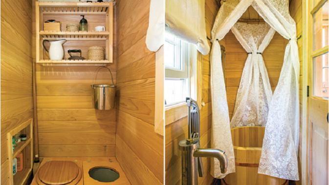 (Foto: © Hudson Valley Magazine) Bentuk kamar mandi dari rumah kecil Kunz.#source%3Dgooglier%2Ecom#https%3A%2F%2Fgooglier%2Ecom%2Fpage%2F%2F10000