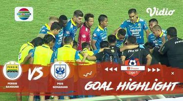 Berita video gol-gol yang tercipta saat Persib Bandung menaklukkan PSIS Semarang dalam lanjutan Shopee Liga 1 2019, Rabu (6/11/2019).