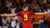 3. Edin Dzeko (AS Roma) - 7 Gol. (AFP/Alberto Pizzoli)