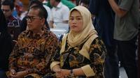 Bupati Bekasi nonaktif Neneng Hasanah Yasin terbukti bersalah menerima suap perizinan proyek Meikarta. Neneng Hasanah divonis hakim Pengadilan Tipikor Bandung, Rabu (29/5/2019). (Huyogo Simbolon)