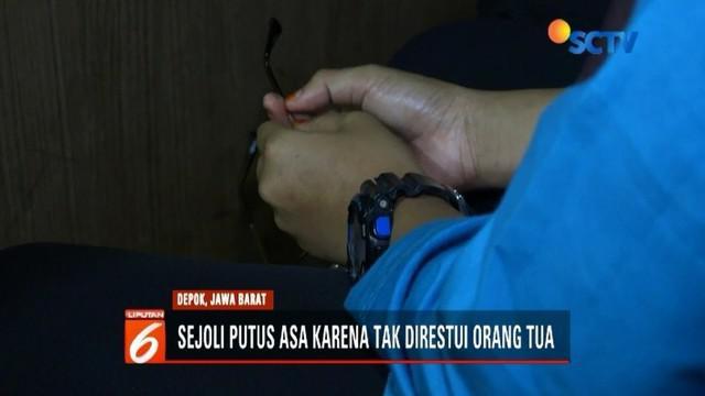 Hubungan tak direstui orangtua, dua sejoli di Depok, Jawa Barat, nekat berbuat mesum di toilet masjid.