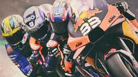 MotoGP - Pembalap dengan Performa Paling Mengejutkan di 5 Balapan MotoGP 2020: Brad Binder, Miguel Oliveira, Joan Mir (Bola.com/Adreanus Titus)