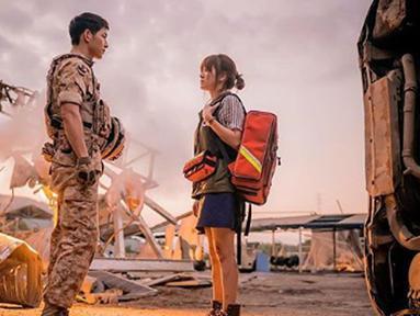 Sempat beradu akting dalam drama korea yang berjudul 'Descendant Of The Sun' (Liputan6.com/IG/songjoongkionly)