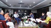 Ketua MPR RI Zulkifli Hasan menerima kunjungan Pengurus Besar Persatuan Dokter Hewan Indonesia (PDHI).