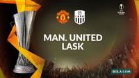 Liga Europa - Manchester United Vs LASK (Bola.com/Adreanus Titus)
