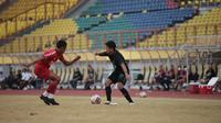 PSS Sleman melakoni laga uji coba melawan Persiba Balikpapan di Stadion Wibawa Mukti, Cikarang, Bekasi, Sabtu (12/6/2021). (Dok PSS Sleman)