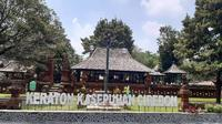 Keraton Kasepuhan Cirebon meniadakan tradisi tabuh gamelan sekaten yang digelar saat lebaran setelah salat id. Foto (Liputan6.com / Panji Prayitno)