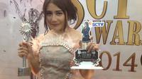 Prilly Latuconsina menyempurnakan dominasi GGS di SCTV Awards 2014