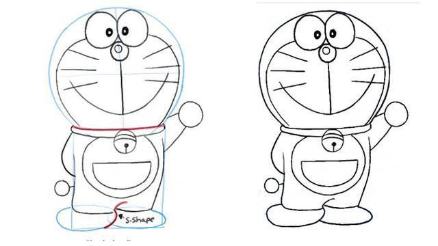 Unduh 94 Gambar Doraemon Belum Diwarnai Lucu