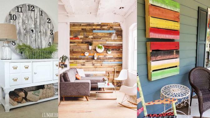 Inspirasi Dekorasi Rumah dengan Palet Kayu - Lifestyle