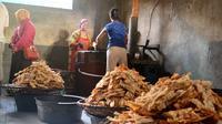 Sale pisang Cilacap menembus pasar Australia, meski masih berupa pembelian personal. (Liputan6.com/Muhamad Ridlo)