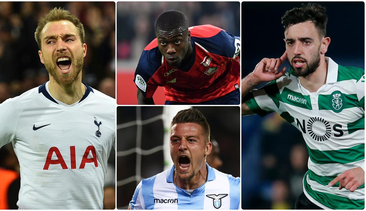 FOTO 6 Pemain Bidikan Manchester United Pada Bursa Transfer