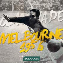 Timnas Indonesia di Olimpiade Melbourne 1956. (Bola.com/Dody Iryawan)