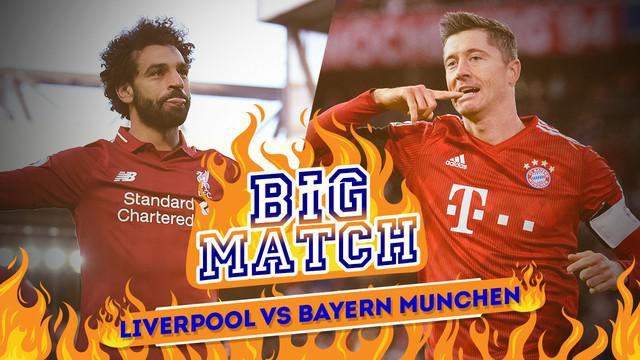 Berita Video Liverpool Vs Bayern Munchen, Duel Striker Haus Gol