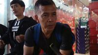 Mantan kapten Persib Bandung, Dadang Hidayat. (Bola.com/Erwin Snaz)