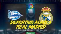 La Liga - Deportivo Alaves Vs Real Madrid (Bola.com/Adreanus Titus)