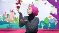 Chiki Fawzi, seorang animator muda sekaligus putri dari Ikang Fawzi. (Instagram)