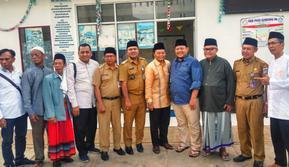 Hidayat Nur Wahid Di sela-sela acara doa bersama dengan ratusan guru pendidikan anak usia dini (Guru PAUD) yang diselenggarakan di Masjid Al Falah, Pondok Pinang, Jakarta Selatan, 15 Januari 2019.