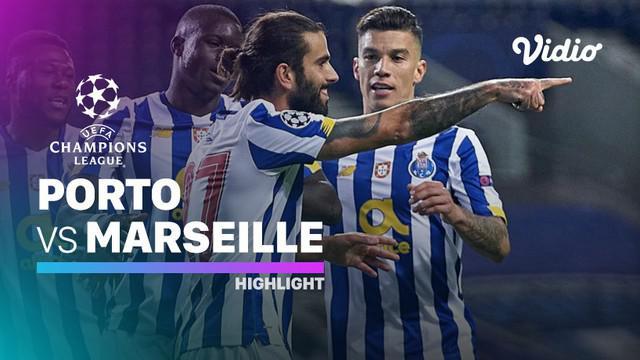 Berita video, FC Porto berhasil raih kemenanganatas Marseille di matchday 3 Grup C Liga Champions 2020/2021