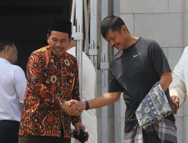 Timnas Indonesia U-22 Shalat Jumat di Tanah Khmer