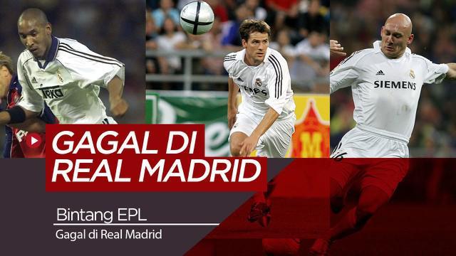 Berita Video Liga Inggris, Berita Video, Real Madrid