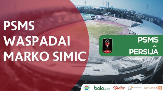 Berita video wawancara winger PSMS Medan, Suhandi, soal cara timnya mengantisipasi striker Persija Jakarta, Marko Simic, pada semifinal Piala Presiden 2018.