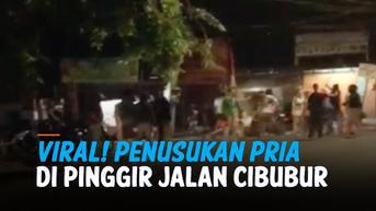 VIDEO: Viral, Empat Pria Ditusuk di Pinggir Jalan Cibubur