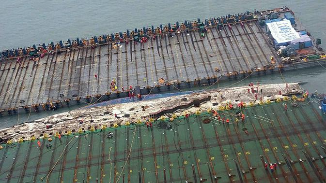 16-4-2014: Tragedi Kapal Sewol Yang Gegerkan Korea Selatan