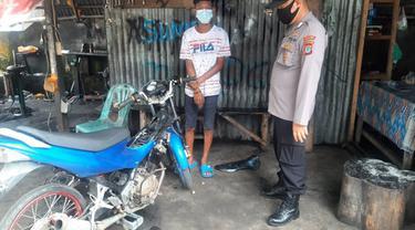 Aparat Kepolisian di Minahasa Utara punya tips tersendiri mencegah penggunaan knalpot bising ini.