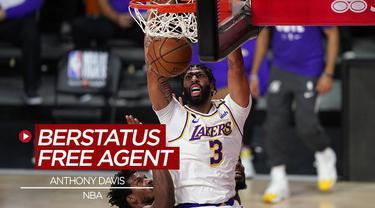 Berita video 10 nama pebasket NBA yang berstatus bebas transfer, salah satunya Anthony Davis