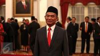 Muhadjir Effendy menjadi Menteri Pendidikan menggantikan Anies Baswedan (Liputan6.com/Faizal Fanani)