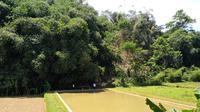 Pembangunan embung yang dilakukan Kementerian Pertanian melalui Ditjen Prasarana dan Sarana Pertanian (PSP) di Purwakarta, Jawa Barat. Dok Kementan