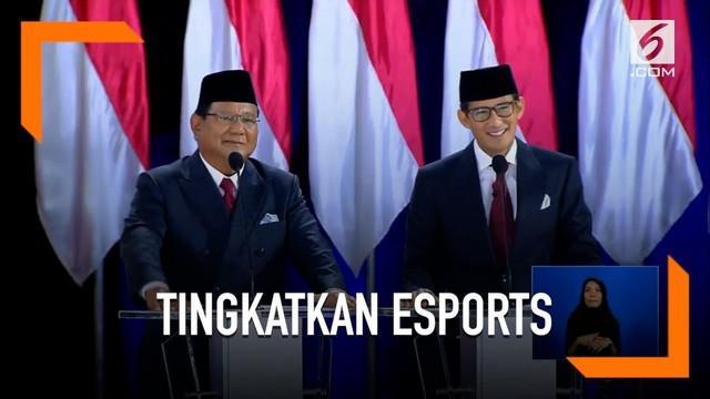 Ditanya tentang cara meningkatkan eSports di Indonesia, ini jawaban Sandiaga Uno.