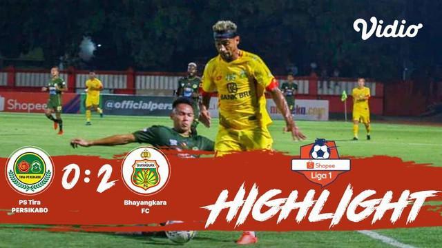 Laga lanjutan #ShopeeLiga1, #PsTiraPersikabo vs #BhayangkaraFC pada hari Sabtu malam (19/10/2019) berakhir  dengan skor 0-2.