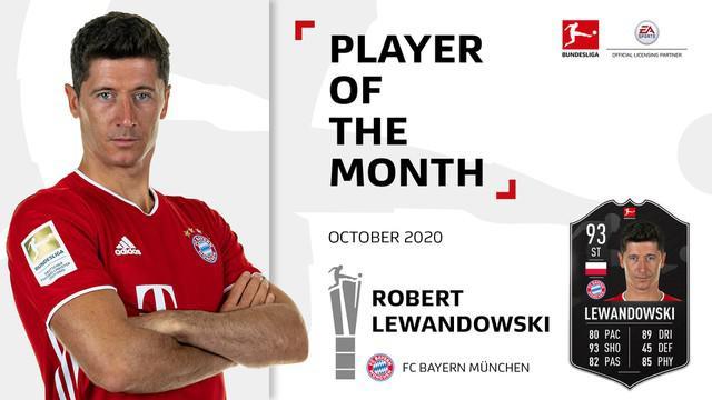 Berita video aksi-aksi gemilang dari striker Bayern Munchen, Robert Lewandowski, yang dinobatkan sebagai pemain terbaik Bundesliga 2020/2021 pada bulan Oktober 2020.