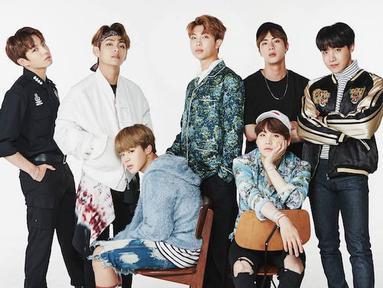 BTS merupakan salah satu grup idol Korea Selattan yang populer. Seiring bertambahnya popularitas mereka, jumlah hatersnya pun semakin banyak. (Foto: Soompi.com)