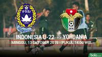 CFA - Indonesia U-22 Vs Yordania (Bola.com/Adreanus Titus)