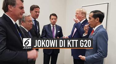 Potret Jokowi Bersama Pemimpin Dunia di KTT G20