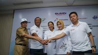 Pertamina, RNI dan PTPN III menandatangani Nota Kesepahaman terkait kerjasama penyediaan bahan baku crude palm oil (CPO), Refined Bleached Deodorized Palm Oil (RBDPO) dan Bio Ethanol. Dok Kementerian BUMN