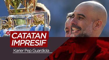 Berita video catatan impresif karier Pep Guardiola sebagai pelatih.