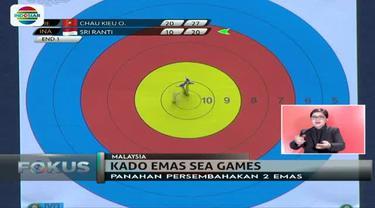 Cabang olahraga panahan putra dan putri Indonesia menorehkan prestasi di ajang Sea Games 2017 di HUT ke-72 RI