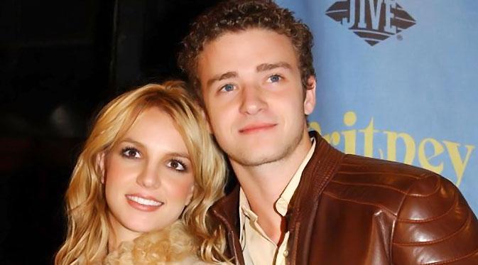 Britney Spears dan Justin Timberlake (YahooNews)