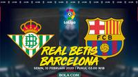 La Liga - Real Betis Vs Barcelona (Bola.com/Adreanus Titus)