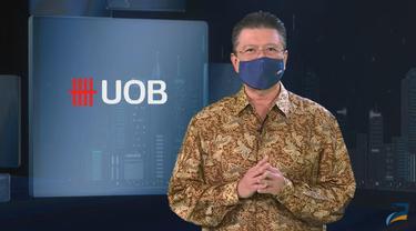 Presiden Direktur PT Bank UOB Indonesia Hendra Gunawan dalam webinar UOB Economic Outlook 2022, Rabu (15/9/2021).