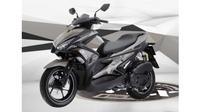 Yamaha Aerox yang lebih dikenal dengan nama NVX 155 di Vietnam.(otosia)