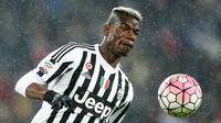 Juventus sukses merekrut bintang muda potensial ke skuad utama. Didatangkan gratis dari Man United, Paul Pogba sukses memenangakan banyak gelar serie A dan Coppa Italia (AFP/Marco Bertorello)
