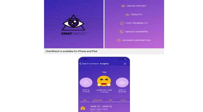 Aplikasi ChatWatch (Foto: Metro.co.uk)