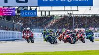 Penyelenggara MotoGP, Dorna Sports, mengonfirmasi Sirkuit Silverstone tetap akan menjadi tuan rumah MotoGP Inggris untuk tiga tahun ke depan. (dok. MotoGP)